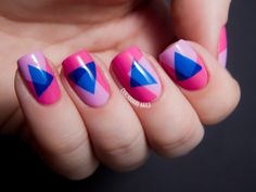 31DC2013 Day 31: Honor Nails You Love (Nailside's Abstract 80s)