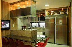 Super cozinha com tv