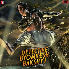 Find more movies like Detective Byomkesh Bakshy! to watch, Latest Detective Byomkesh Bakshy! Trailer, Detective Byomkesh Bakshy is set in the World War torn Calcutta during the Enter a magical world of nostalgia and 'Expect the Unexpected'. Imdb Movies, 2015 Movies, New Movies, Movies To Watch, Movies Free, Full Movies Download, Streaming Vf, Streaming Movies, Movies