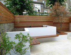 Moderne-gartengestaltung-beispiele-holz-pergola-dekoration.jpg ... Holz Pergola Garten Moderne Beispiele