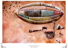 Print  Tessie la Tisseuse Back Home by infinitales on Etsy, €17.05