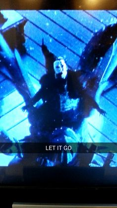 The phantom of the opera meets Frozen!  Let it go, let it go the cold never bothered me anyways!