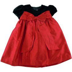 Luli & Me Velvet Bodice Dress with Silk Skirt « Clothing Impulse