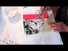 """HOW TO MAKE ACRYLIC """"SKIN TO USE IN 3D ART Red Black Series Part 2"""