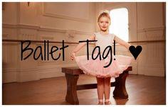¡Hola Bichomonstruos! ♥ Hoy os traigo un tag sobre ballet c: Es de invención propia y os animo a que me escribais en los comentarios vuestras respuestas. ¡Si...