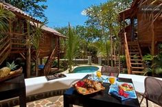 Fabulous bed and breakfast in Tamarindo, Costa Rica! Near town and the beach, but a private oasis!  Beach Bungalows Tamarindo!!