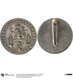 Deutscher Orden in Münnerstadt Petschaft ca. 1274-1400 Land: Deutschland (Land) Material: Bronze Durchmesser: 42 mm