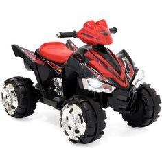 a64f863e696da Best Choice Products 12V Kids Battery Powered Electric 4-Wheeler Quad ATV  Ride-On Toy w  2 Speeds