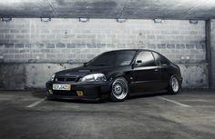 Honda Civic...JDM style. So clean.