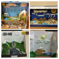 5th grade science projects - create a model of the water cycle