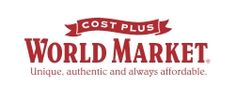 25% off Online & In-Store Purchases via Printable Coupon @Worldmarket   (sent from my iSlick http://islickapp.com)