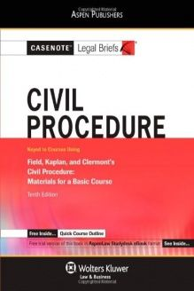 551 best law images on pinterest law a well and ale civil procedure field kaplan clermont casenote legal briefs casenote legal briefs aspen publishers fandeluxe Images