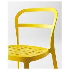 REIDAR sandalye, sarı | IKEA