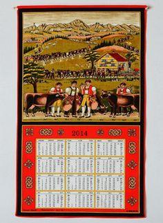 Traditional Swiss Calendar