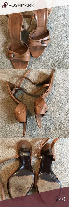 Ol'autre Chose heels size 6 1/2 Sexy and classic Ol'autre Chose heels size 6 1/2.  Natural tan color. 3 1/2 inch heel. Feel free to ask any questions and offers are always welcome. ol'autre chose Shoes Heels