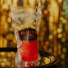 Bar legend and cocktail writer Cheryl Charming digs deep with Ryan Reynolds' Aviation gin in an entire menu section, including the Capri Sun-esque vibes of the Ice on the Wings served in a bag. This summer slushie tastes like a cross between a hibiscus lemonade and a French 75.