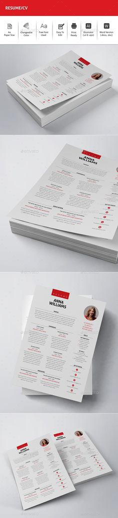 PSD CV Resume Template #$3 u2022 Only available here ➝ http - net resume
