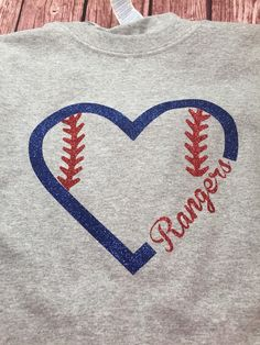 Hey, I found this really awesome Etsy listing at https://www.etsy.com/listing/231010175/texas-rangers-baseball-heart-shirt-34