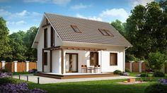 DOM.PL™ - Projekt domu SZ5 Z212 CE - DOM OZ5-45 - gotowy projekt domu