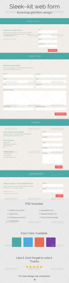Contact Form 7 Request a Quote Aero Vertical Form Responsive CSS