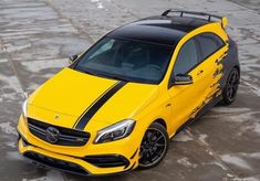 Mercedes Hatchback, Mercedes A45 Amg, Mercedes Car, Vw Golf R Mk7, Mercedes A Class, Benz A Class, Peugeot, High Performance Cars, Car Wrap