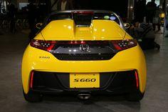 "Car: HONDA: S660: Photos from the new model presentation of S660 (via Japan web car media ""Car Watch"") Part 1 (http://car.watch.impress.co.jp/docs/news/20150330_695347.html) S660 α-CVT."
