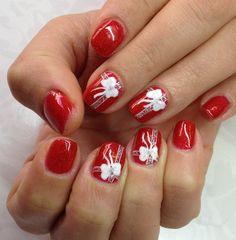 Ribbon Nails by Tanya Angelova