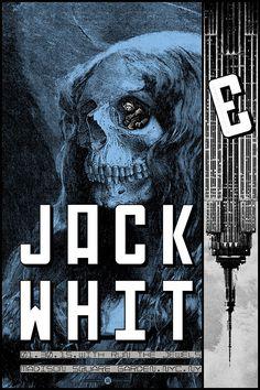 Jack White Concert Poster