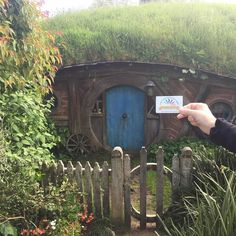 Where in the World is your #LACountyCard? Ours went to Hobbiton in New Zealand! This location was used in The Lord of the Rings film trilogy and The Hobbit film series. Pick up the DVDs of the movies or the books by J. R. R. Tolkien from the library! #lacountylibrary #lacounty #library #newzealand #hobbit #hobbiton