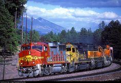 RailPictures.Net Photo: ATSF 120 Atchison, Topeka & Santa Fe (ATSF) EMD GP60M at Chalendar, Arizona by Ted Ellis