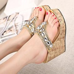 US WOMENS BRIDAL SHOES SANDALS HIGH HEEL INDIAN DIMANATE EMBROIDERED JUTTI DD624