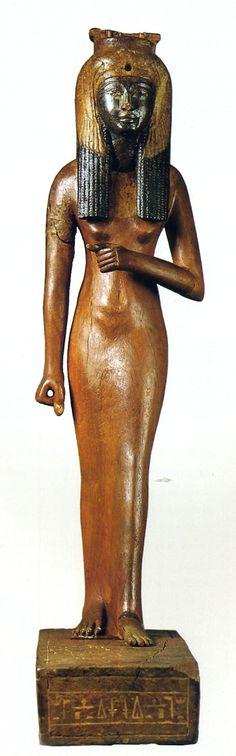 Ahmose-Nefertari, kingdom of Ramsesse II :: display at: Torino Museo Egizio Regina, Italy