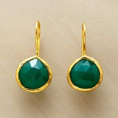 Sundance Catalog  GREEN EYED EARRINGS
