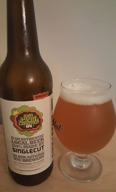 SingleCut Does Anybody Remember Laughter (A)IPA is 7.2 ABV and 122 IBU. Appearance is unfiltered orange-amber and the nose pungent citrus hop. The flavor is well balanced sweet malt and those fresh, fruity and resinous hops. This is very reminiscent of the 18-Watt IPA just turned up a bunch more. Mouthfeel is moderate and creamy. My two offerings from SingleCut were top notch and I'll be looking for any more I can find.