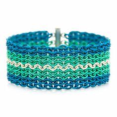 Poseidon Ruffles Cuff Bracelet Kit   Fusion Beads