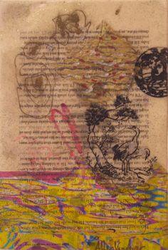 Allen Vandever; Chicago; cotemporary; new; yoga; nude; epoxy; artist; abstrac; new; collage; Chicago Artist Et7