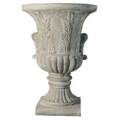Round Urn Planter Drain Opening Yes * Check out this great product.