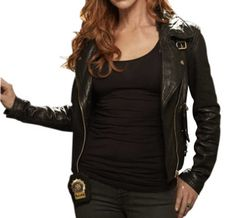 Carrie Wells Unforgettable Leather Jacket   Movie Inspired    Jacket Features:   Outfit type: Leather Jacket Gender: Female Color: Black Front: Front Zip Closure Collar: Shirt Collar Lining: Viscose Lining Pockets: Two pockets