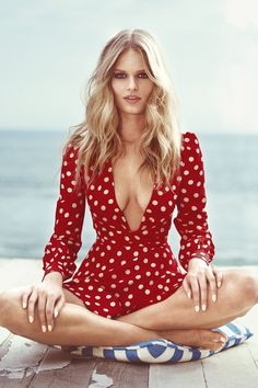 Anna Ewers channels Brigitte Bardot in BAZAAR's May cover shoot. See the gorgeous photos here: