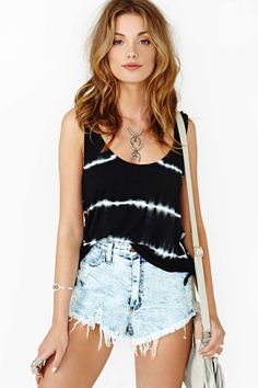 White Noise Crop Tank in Clothes at Nasty Gal