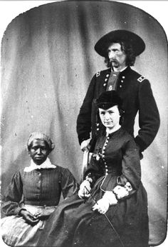 6.4 George Armstrong Custer, his wife Libbie and their cook, Eliza.