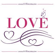 Vinilo decorativo LOVE - www.viniloscasa.com