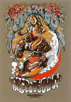 MAMBO Bigfoot Surfer, Rockin'Jelly Bean