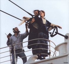 "Behind the Scenes | Setting up one of the most famous shots in the history of cinema. ""Titanic""."