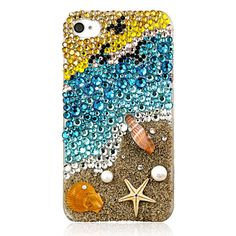 Original Beautiful Coast Crystal Case for iPhone