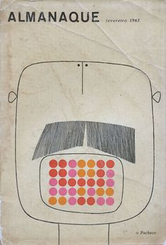 Magazine cover, by Sebastião Rodrigues, 1961