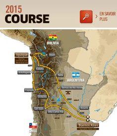 Dakar route 2015