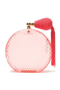 Is that a Perfume Bottle Clutch?! Charlotte Olympia does it again.