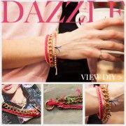 Chain and Rhinestone Bracelet DIY Feature