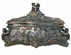 El Secreto Encanto De La Diva: Sterling silver antique Jewelry box.  -  http://elsecretoencantodeladiva.blogspot.com.ar/2014/04/la-plata.html